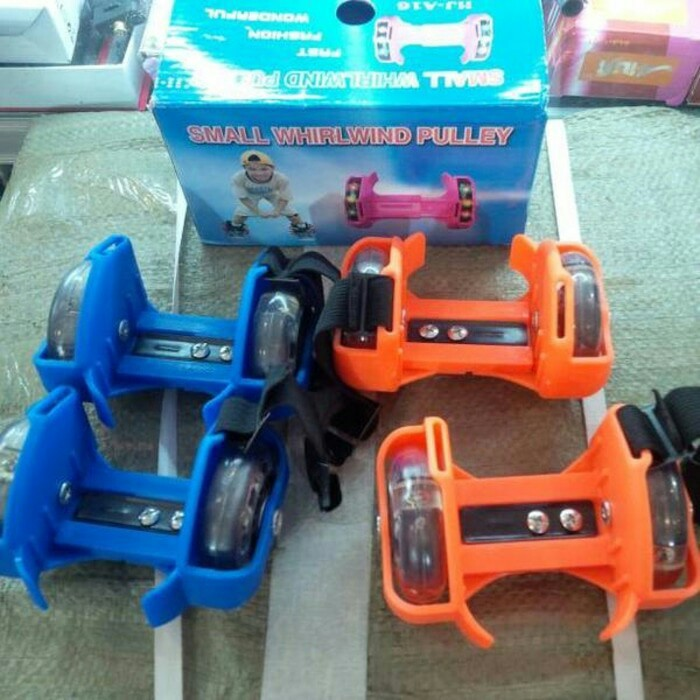 harga Sepatu roda anak flashing roller Tokopedia.com