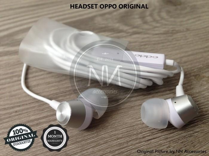 harga Headset earphone oppo find 7 7a r1x r3 r5 r9+ plus r7s n1 n3 original Tokopedia.com