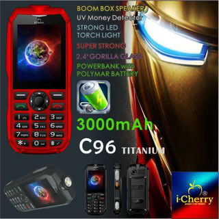 Spesifikasi Harga ICherry C133 PTT Hp Antena Outdoor Powerbank Walkie Talkie Murah Terbaru. Source ·