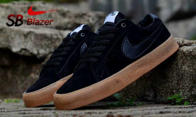Jual Sepatu Pria Casual Sneakers Nike SB Blazer Made In Vietnam ... 456f0f9bfd