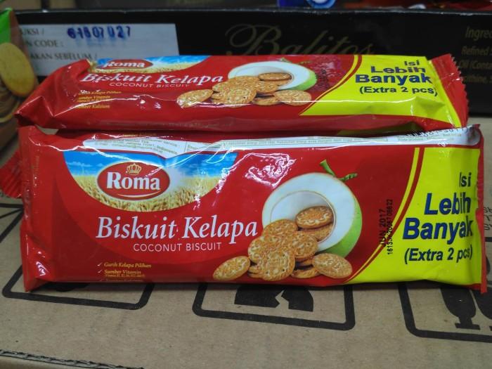 Jual Roma Biskuit Kelapa 27 Gr Snack Ecer Grosir Mekar Jaya