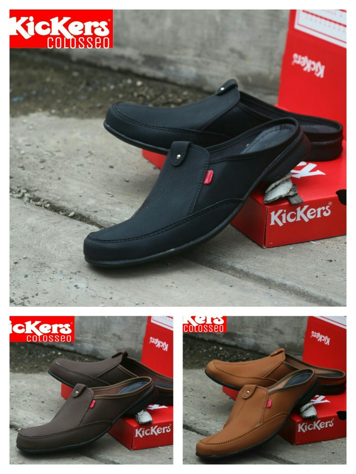 Sepatu santai bustong + sandal flip…