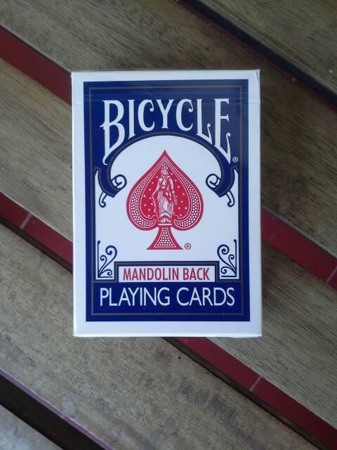 harga Kartu remi bicycle mandolin back biru | import usa Tokopedia.com