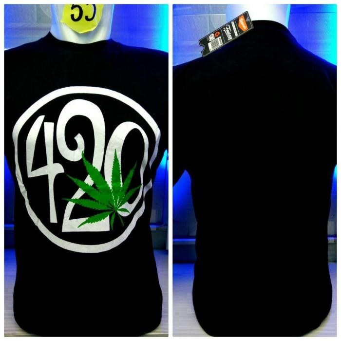 harga Kaos combed hitam 420 bulat reggae rasta baju distro shirt grosir Tokopedia.com