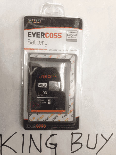 harga Baterai evercoss a66a double power original/batre/battery/bateray/batt Tokopedia.com
