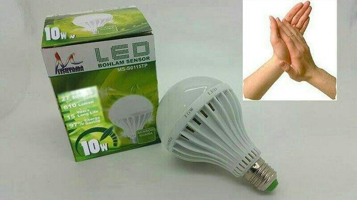 Foto Produk LAMPU LED SENSOR TEPUK BOHLAM LED SENSOR SUARA dari Yuni sukses