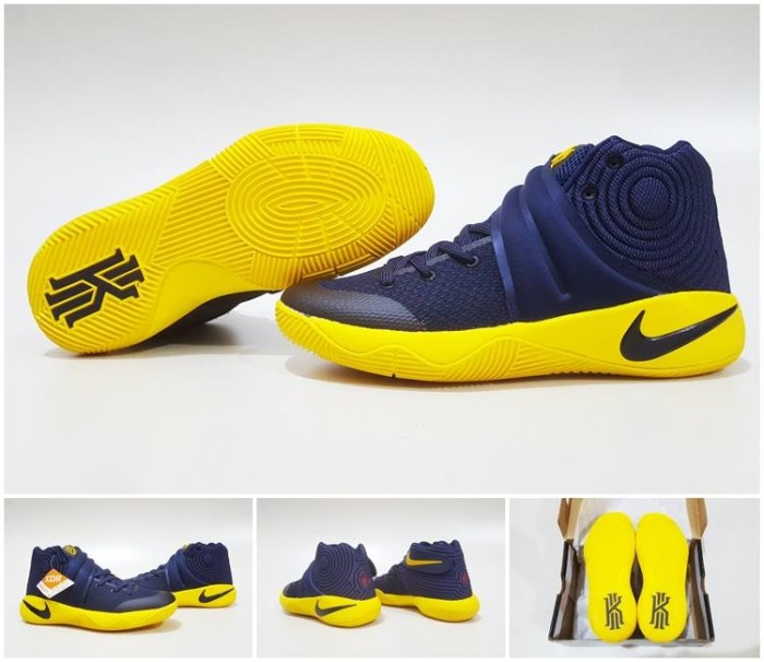 super popular 33c60 58680 Jual Sepatu Basket Nike Kyrie Two 2 Cavs Cavaliers Navy Blue Yellow - Kota  Batam - AJ Basketball Store | Tokopedia