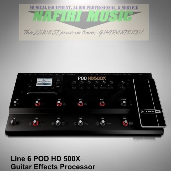 harga Efek gitar multi line 6 pod hd500x / pod hd-500x / pod hd 500x murah Tokopedia.com