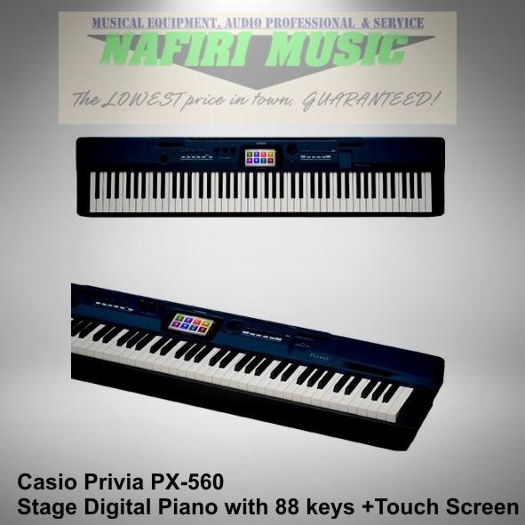 harga Digital piano casio privia px560 / px 560 / px-560 harga promo! Tokopedia.com