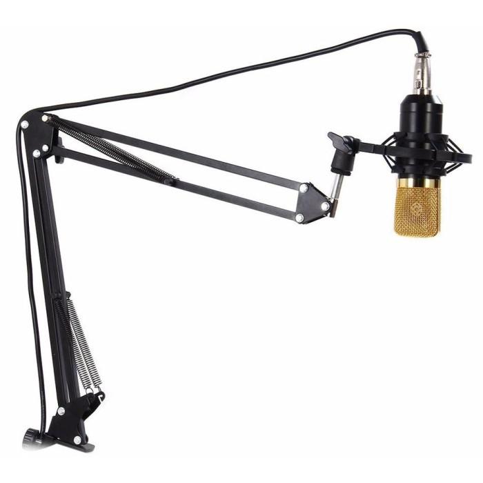 Foto Produk Stand Gantung Mic / Microphone / Mikrofon Suspension Boom Scissor Arm dari BudgetGadget