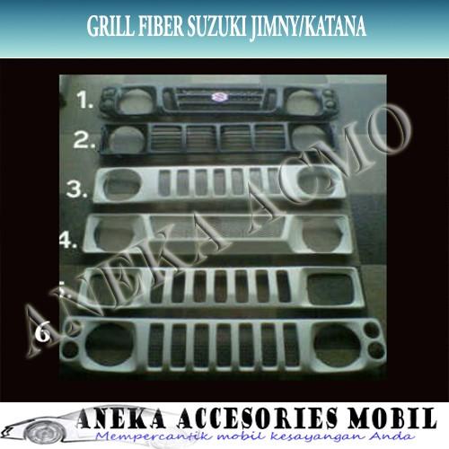 harga Grill / grille depan fiber mobil suzuki jimny katana Tokopedia.com