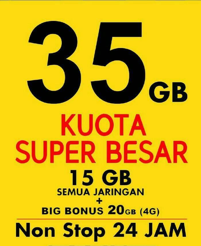 KARTU INDOSAT 35 GB - MENTARI / IM3 OOREDOO