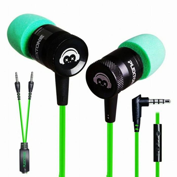 harga Earphone plextone g10 in-ear gaming headset stereo bass headphone Tokopedia.com