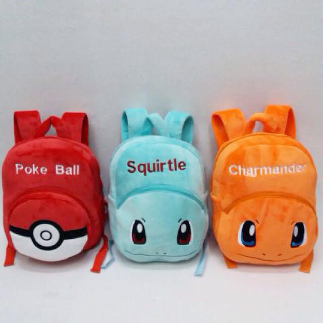 harga Tas ransel anak pokemon go pokeball squirtle charmander import uk l Tokopedia.com