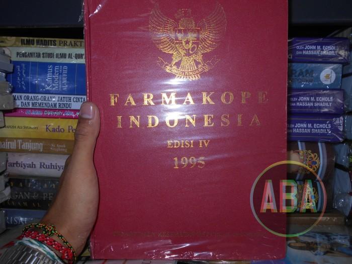 Buku Farmakope Indonesia Edisi Keempat ( ke 3 / IV ) Tahun 1995