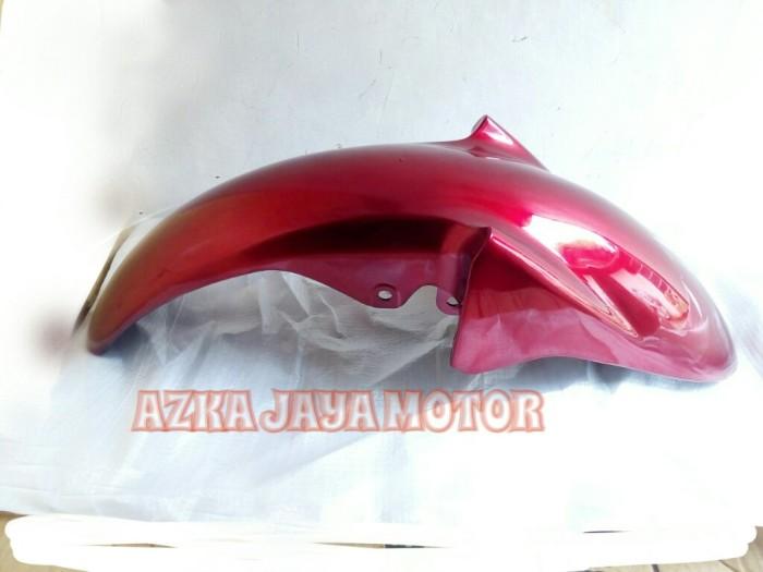 harga Spakbor depan yamaha vixion lama merah Tokopedia.com