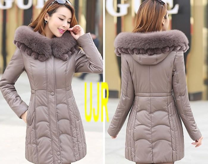 harga Jaket musim dingin (winter coat) wanita super exclusive bahan kulit Tokopedia.com