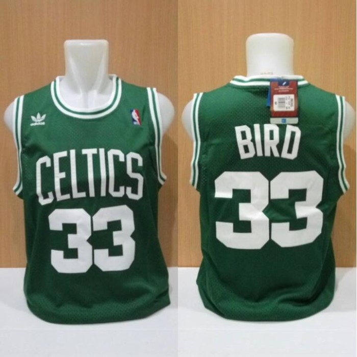 hot sale online 1187e 9c721 Jual Jersey Basket Swingman NBA Boston Celtics Larry Bird Hijau - Kota  Batam - Elite Basketball Store   Tokopedia