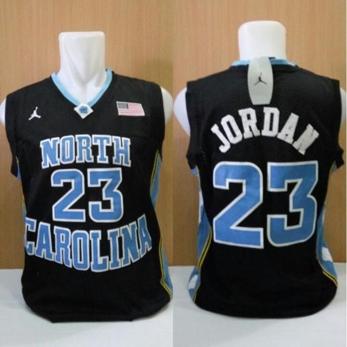 ce81ec9ca446 harga Jersey basket classic unc north carolina michael jordan hitam biru  Tokopedia.com