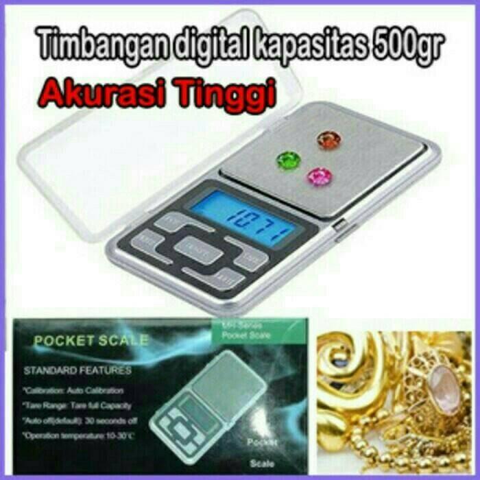 Foto Produk timbangan mini digital (emas/perhiasan) dari evencio shop