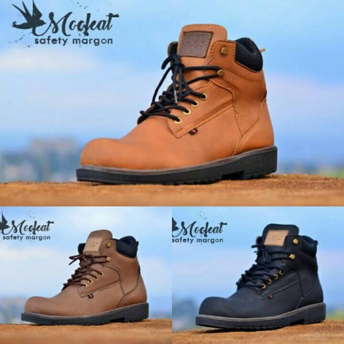 harga Sepatu boot/boots pria casual moofeat original safety ( ujung besi ) Tokopedia.com