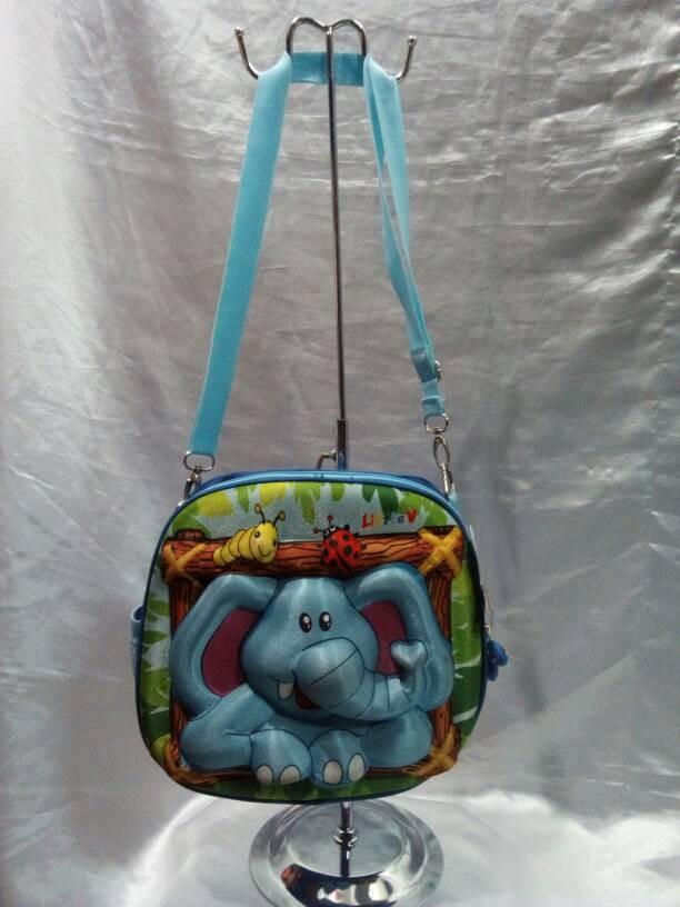 harga Tas slempang anak lucu karakter gajah 3d merk little v Tokopedia.com