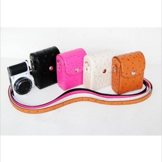 harga Tas / case / dompet kamera mirrorless / pocket motif grain pu leather Tokopedia.com