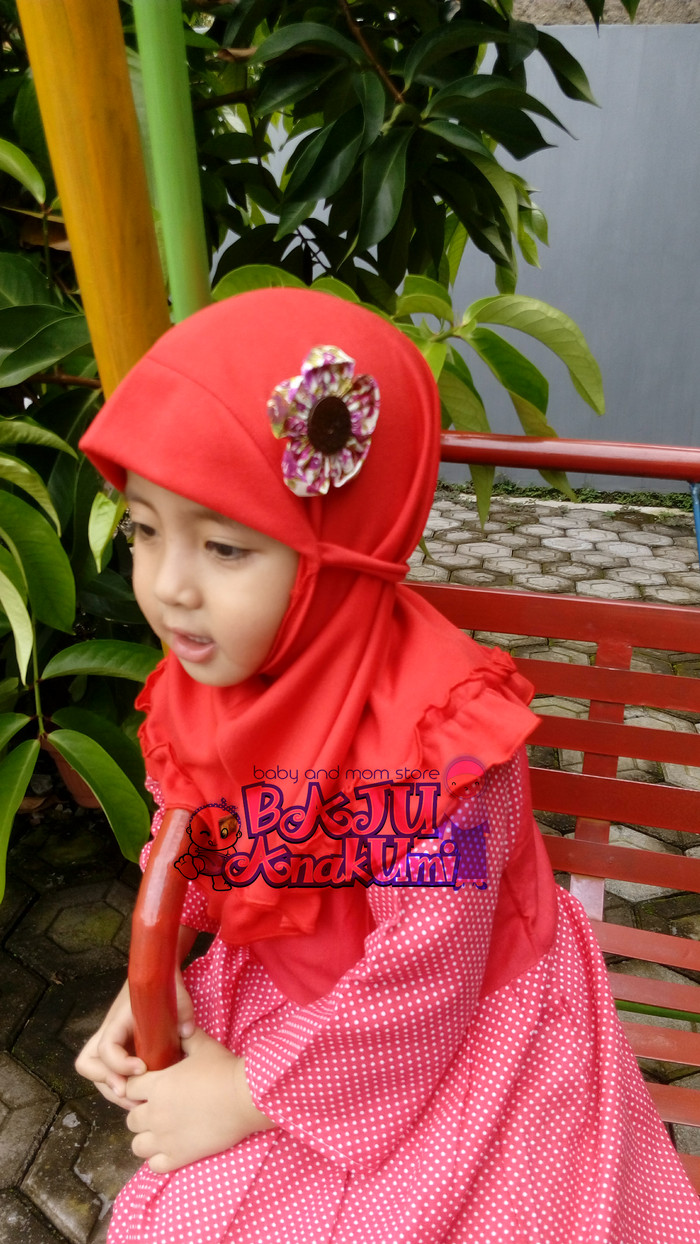Jual jilbab bayi//kerudung bayi//jilbab anak//kerudung anak - Baju Anakumi   Tokopedia
