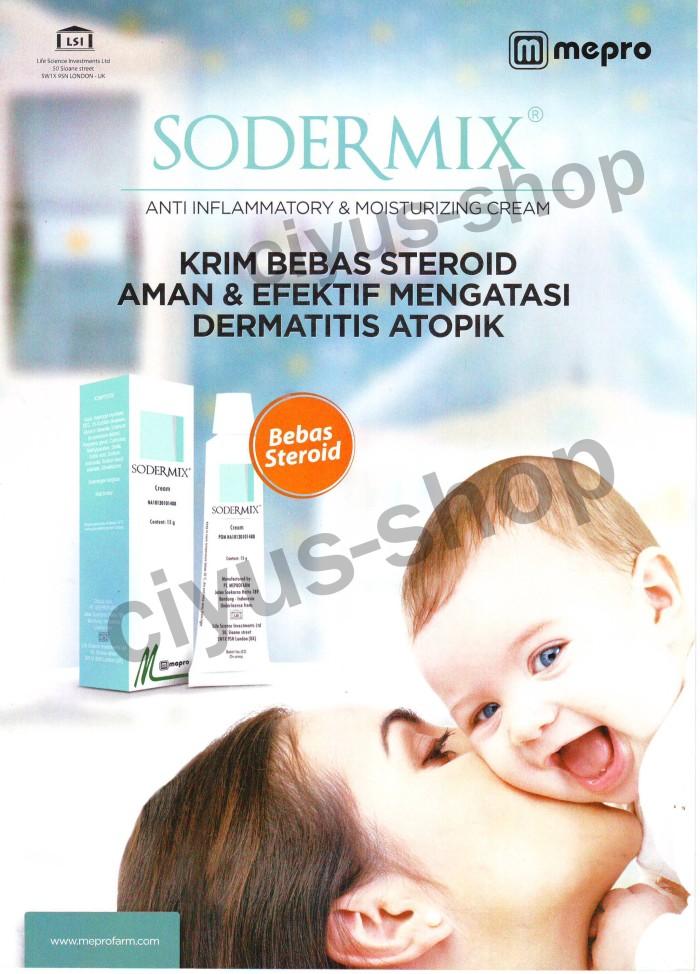 Sodermix Cream Utk Dermatitis Atopik Pada Anak Dermatik Dermatix
