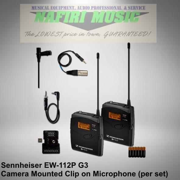 harga Mic wireless camera sennheiser ew112p g3 / ew 112 p g3 / ew 112p-g3 Tokopedia.com