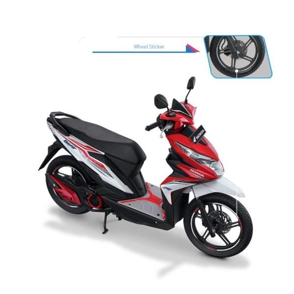 Foto Produk Wheel Rim Sticker Honda Matic dari Honda Cengkareng