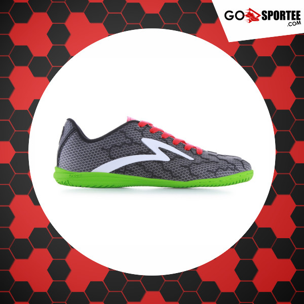 Sepatu Futsal SPECS CYANIDE TNT (Black White Opal Green) Original 62980e4f75