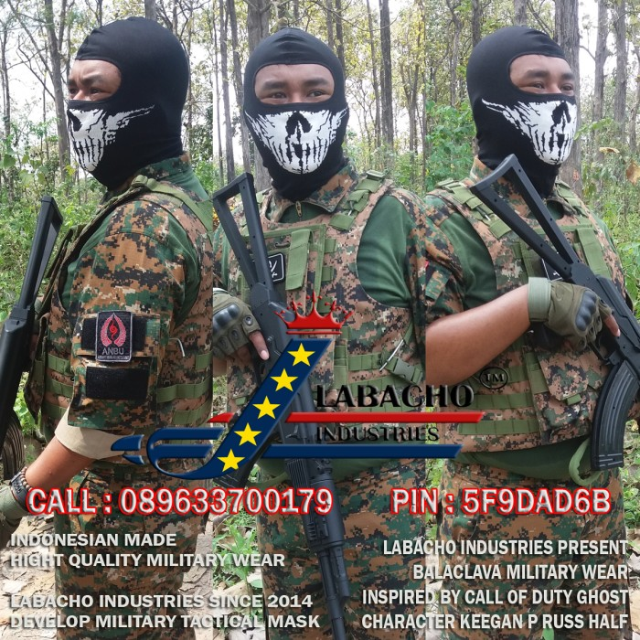 call of duty ghosts keegan mask