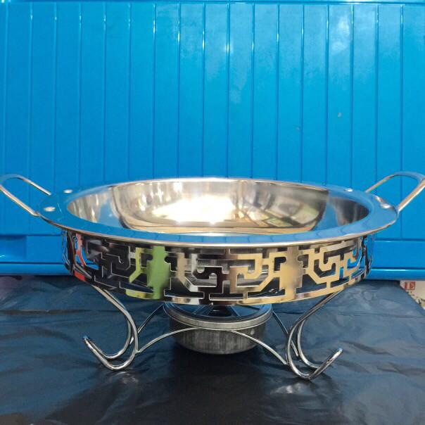harga Panci prasmanan ukir tebal 26cm sup kuah warmer with pan stove slvshop Tokopedia.com