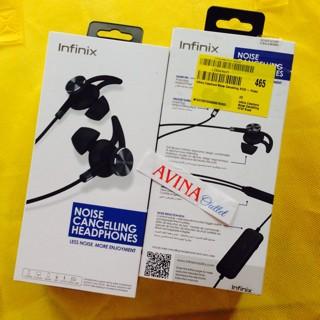 harga Infinix earphone noise cancelling xe02 - hitam ( hot note zero 2, 3 ) Tokopedia.com