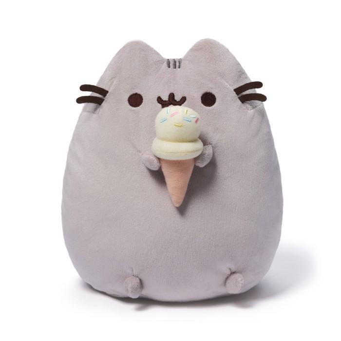 Foto Produk GUND - Pusheen Ice Cream Cone Plush dari Pusheen by Gund