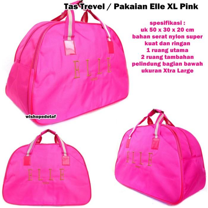 Jual tas elle pink cek harga di PriceArea.com 8224e1ea4b