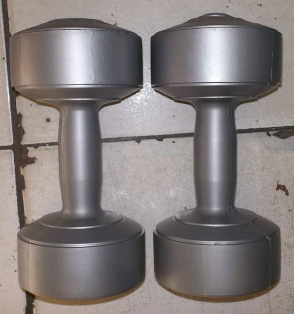 sepasang 3 kg dumble/dumbbell/dumbel/dumbell (bukan barbell/barbel)