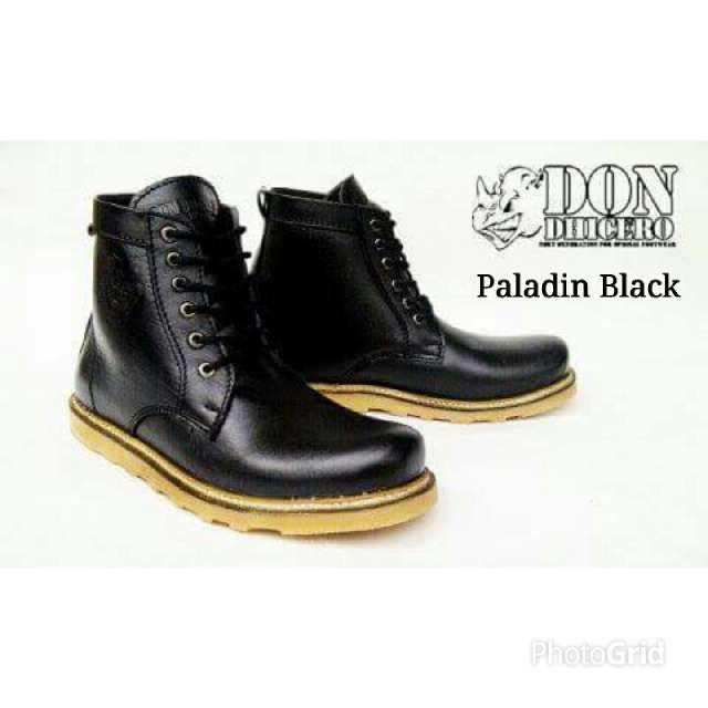 harga Sepatu don dhicero paladin boots original handmade 39-44 Tokopedia.com