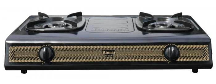 harga Rinnai ri-522s kompor gas stove elpiji tekanan rendah 2 tungku - batik Tokopedia.com