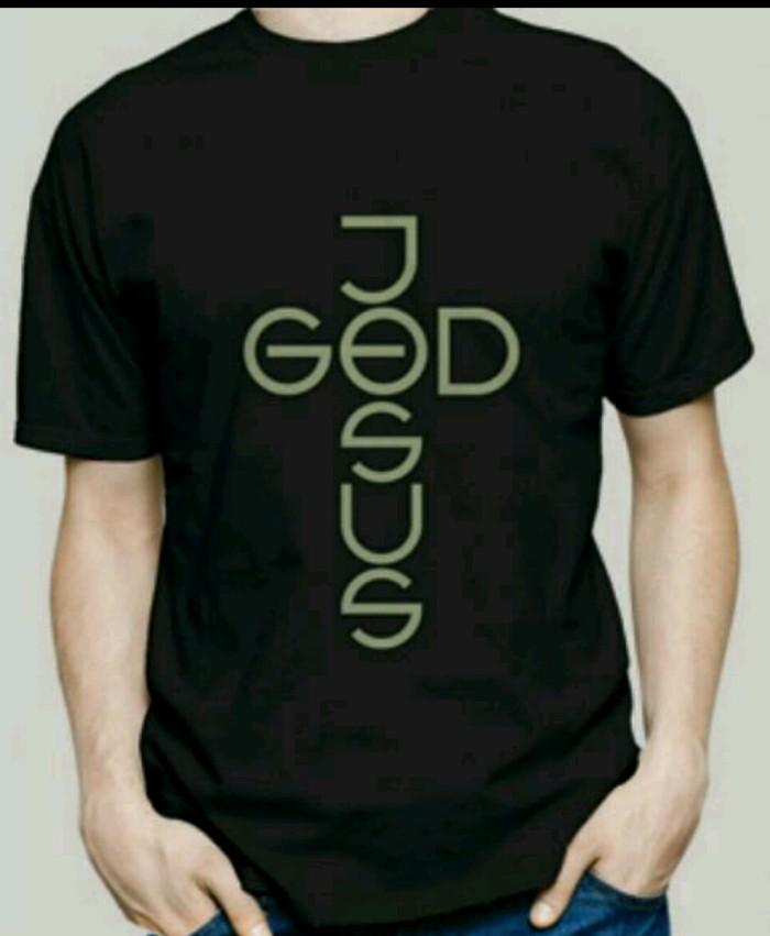 harga Kaos rohani//baju kristen//kaos kristen(god jesus) Tokopedia.com