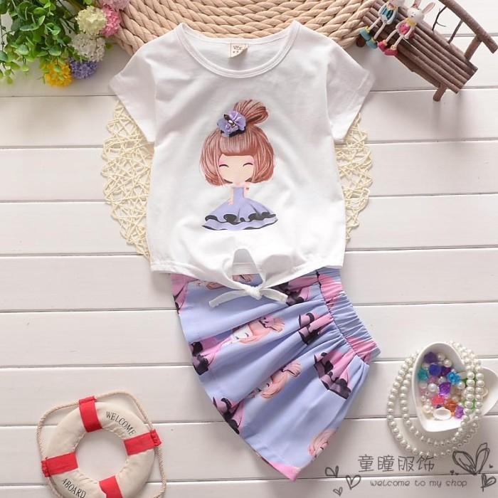 harga Bc 1433 - simone dress purple ( baju setelan anak perempuan korea ) Tokopedia.com