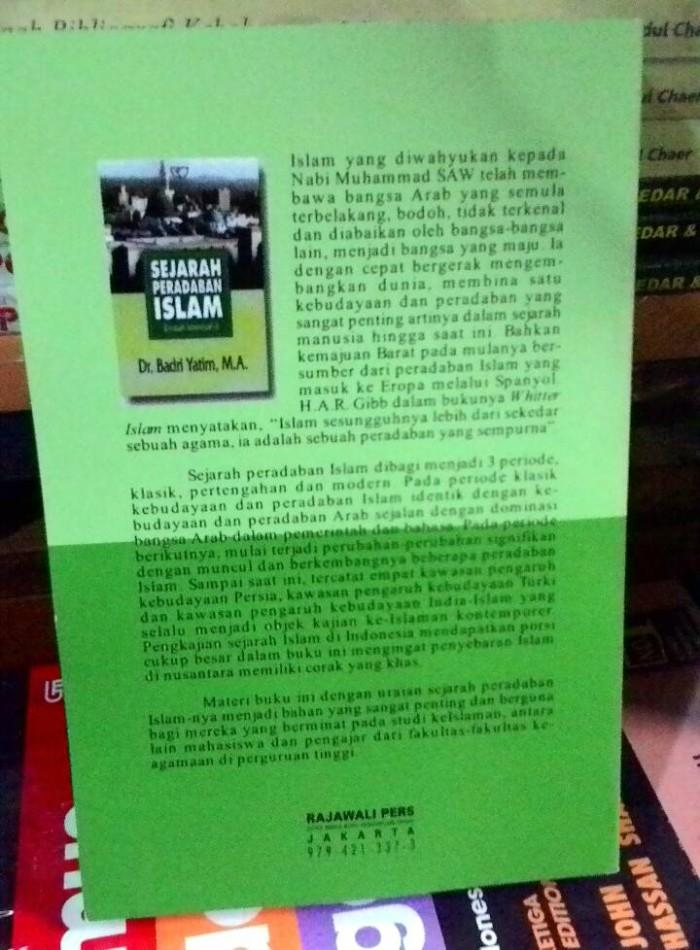 Buku Sejarah Peradaban Islam Pdf