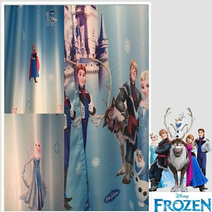 Gorden Frozen Blackout Import Cocok Untuk Di Ruang Tamu Atau Kamar