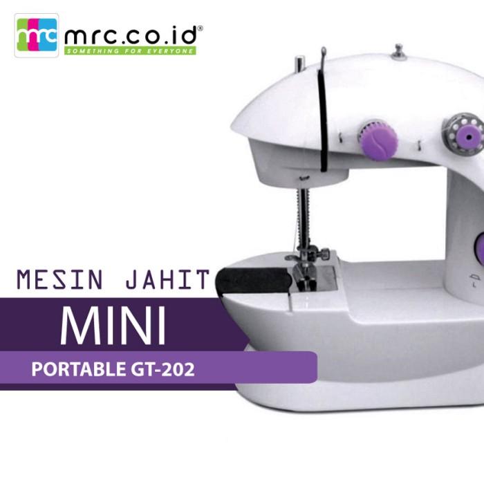 MESIN JAHIT MINI PORTABLE GT-202 / FHSM 202 / S2 .