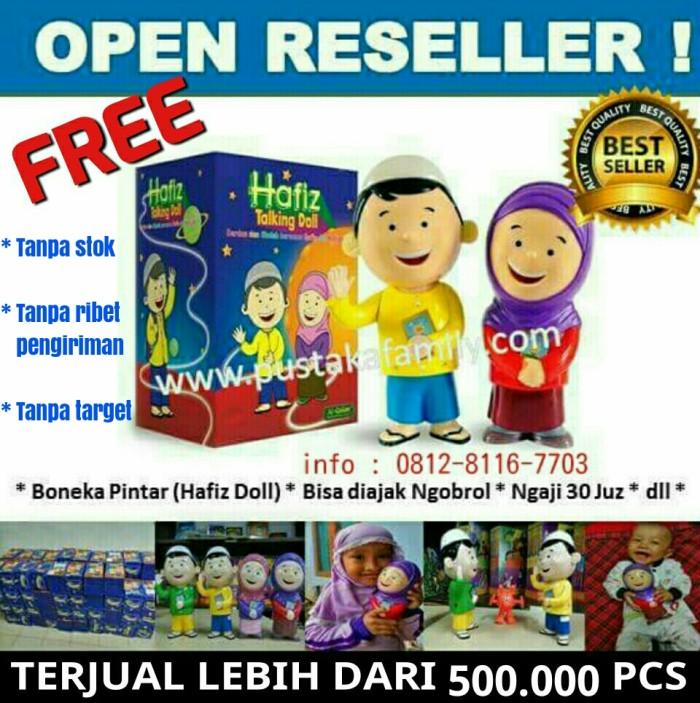 Hafiz Doll   gratis hafiz doll setiap pembelian Al Qolam magic project