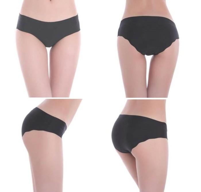 ae78675ad80 Celana Dalam Wanita Tanpa Jahitan Seamless Halus Victoria s Secret - Beige