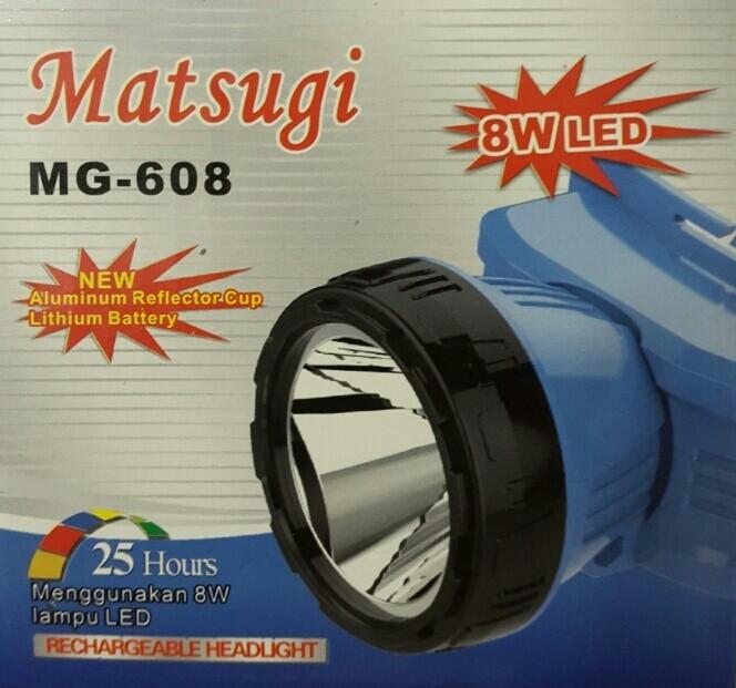 harga Senter kepala led matsugi mg-608 (8w) Tokopedia.com