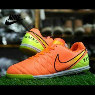 ... harga Nike tiempo futsal made in vietnam oren Tokopedia.com 4d14dfcfaa