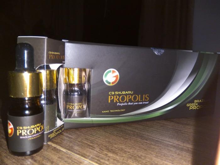 PROPOLIS I-TECH NANO kemasan baru isi 7 botol .